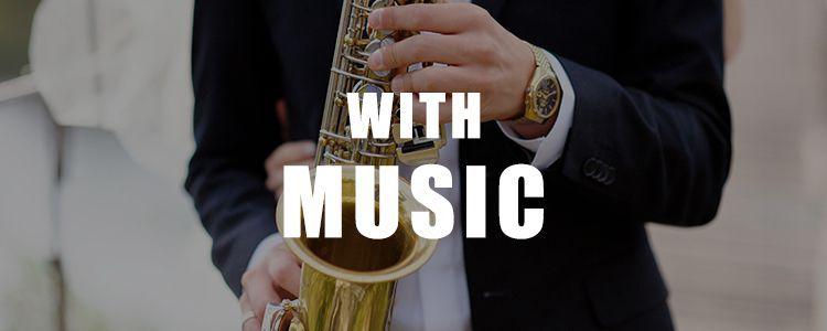 バンド・楽器演奏も対応可能な結婚式場・パーティー会場特集