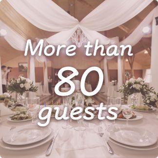 大人数(着席80名以上)参列可能な結婚式場・パーティー会場特集