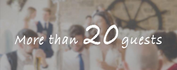 少人数(20名から)貸切可能な結婚式場・パーティー会場特集