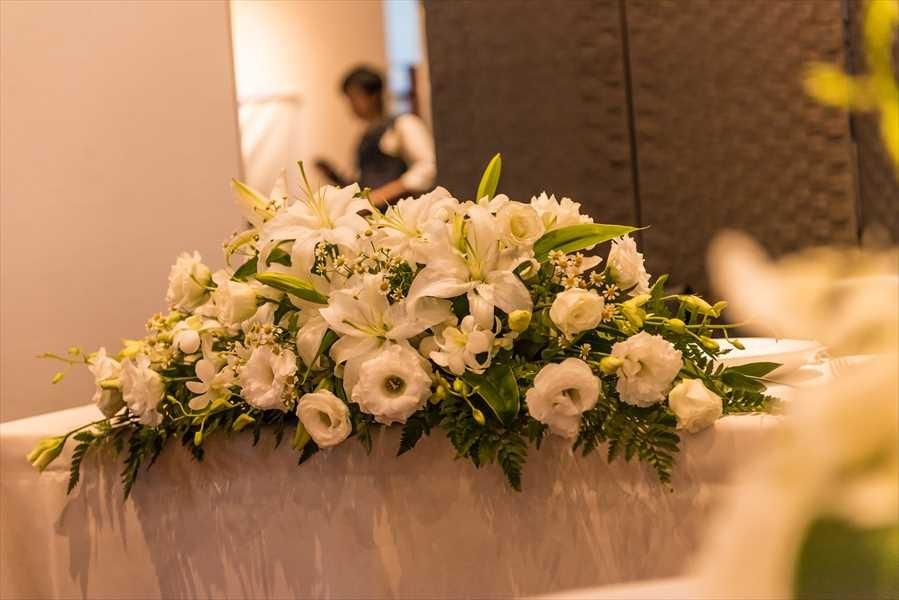 メインや卓上装花など各オプションも手配いたします。