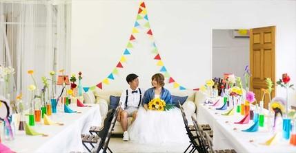「型破りだけとMy Style」もっと自由な結婚パーティーを