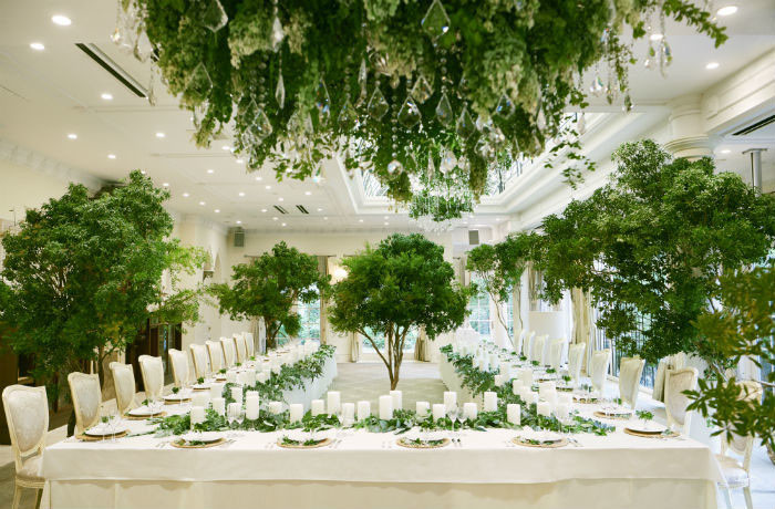 南仏リゾートのオシャレなガーデンウエディングが叶う「パラディアン」