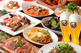 地産地消にこだわったお料理をビュッフェスタイルでお楽しみください