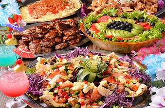 ウエディングパーティーにぴったりな豪華な料理の数々