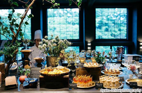 [全館貸切]お二人のオリジナルで作るコース料理と花蜜のデザートブッフェ