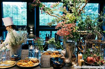 世界のフルーツ&ナッツと花の蜜で作るデザートとアラビアン・ジェラートのブッフェ