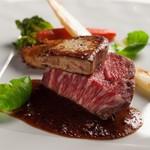 【料理重視の方へ】お肉もお魚もメイン食べ