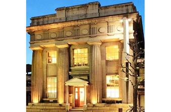 大正時代の銀行を改築した歴史ある建物