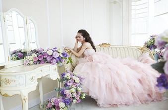 豊富なドレスのラインナップ。お気に入りが必ず見つかる