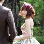 新作ドレス試着で叶う花嫁体験フェア★