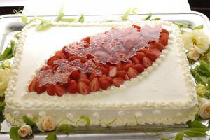 特製ウエディングケーキ