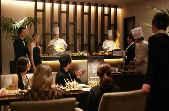 シェフのパフォーマンスを取り入れた料理重視のパーティも人気