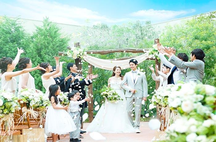 自然を感じながらオリジナリティ溢れた結婚式を