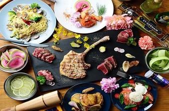 エディブルフラワー(食用花)を使った華やかなお料理の数々
