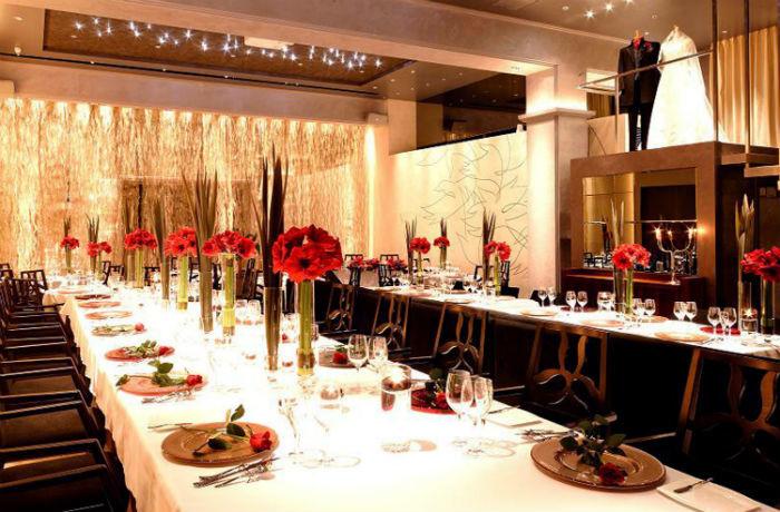 お料理でおもてなしを希望するカップルにぴったりの晴れの場をご用意。