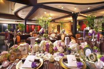 レストランでは珍しい、「円卓」60名着席可能