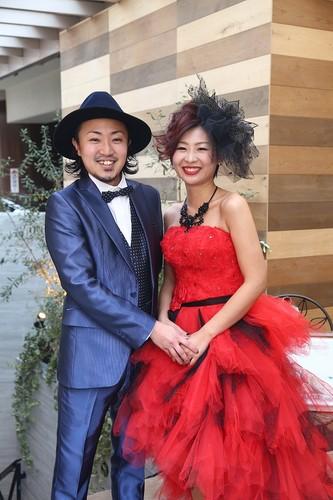 Kenta様 & Rina様