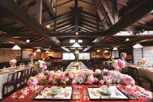 モダン古民家での和婚会費制パーティープラン