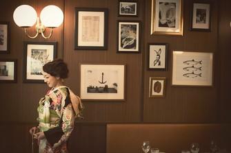 店内は雰囲気のある調度品で彩る、クラシカルなイメージ。