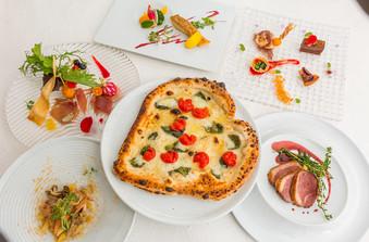 ピザの形をハートにして、美味しくフォトジェニックに/