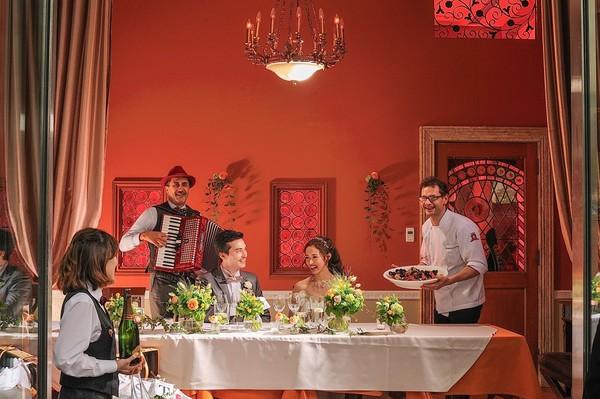 【着席コース料理】しっかりおもてなし会費制ウェディングパーティープラン