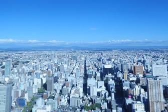 ミッドランドスクエア42階から、名古屋市を一望できる絶景
