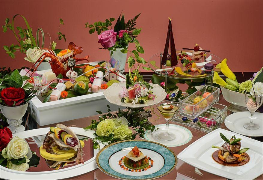旬の食材をいかした和洋折衷の創作料理