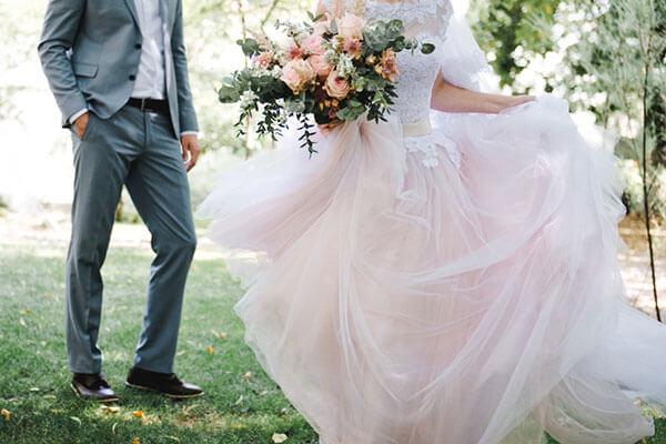 ガーデンウエディングで着たいウエディングドレス