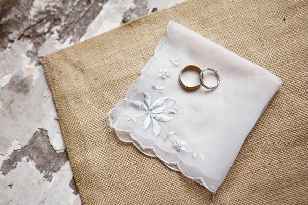 結婚式のハンカチ