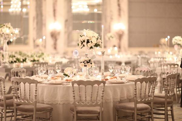 結婚式のゲスト席