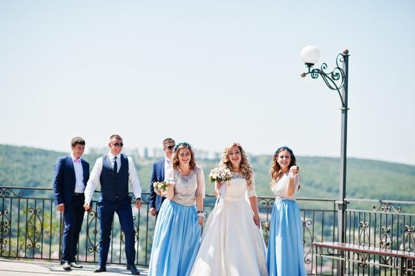 晴天の結婚式