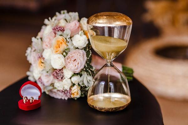 結婚式と時間