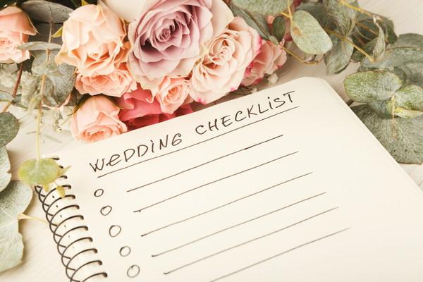 結婚式のリスト
