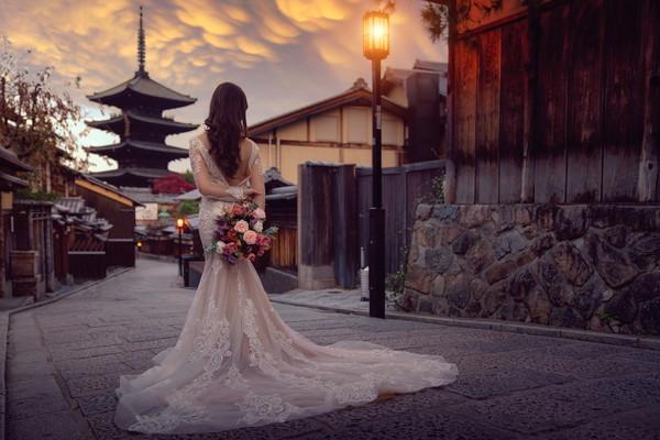 京都の新婦