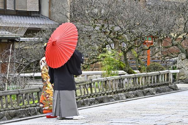 京都の新郎新婦