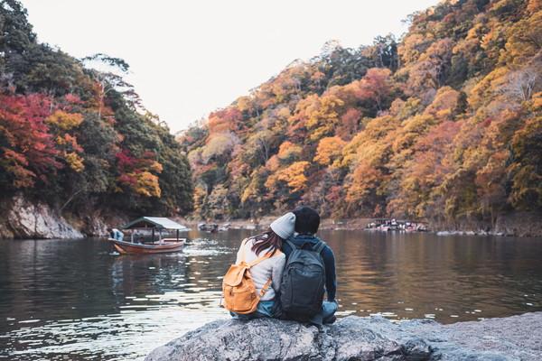 京都で新婚旅行