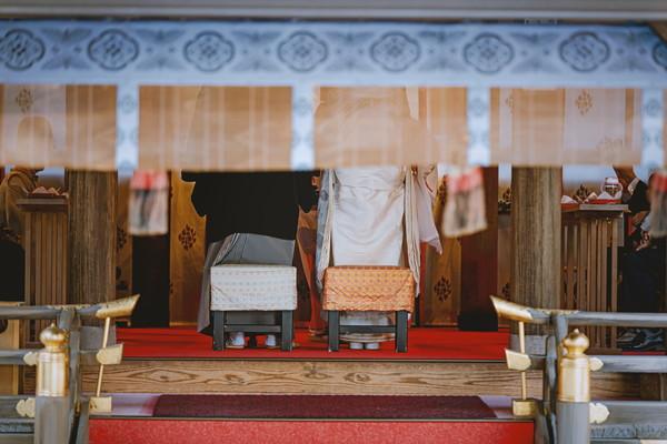 京都での婚礼