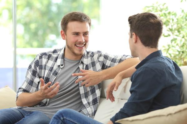 兄弟で話し合い